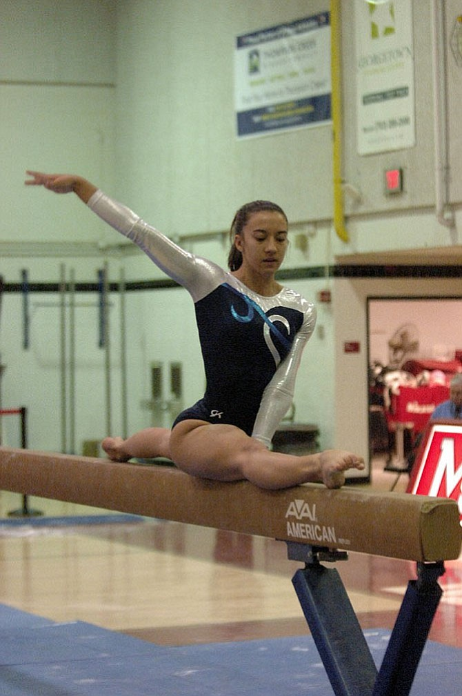 Washington-Lee senior Sophie Hatcher and other gymnasts have had to deal with the individual state meet being postponed twice due to inclement weather concerns.
