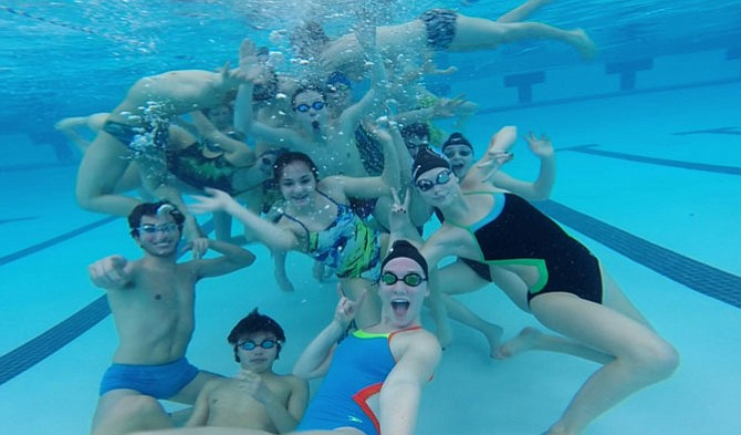 More than 30 swimmers participated in a 'Dollars for Daniel' event last Saturday.