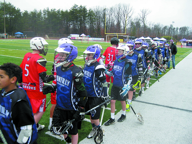 The Lax for a Cause event raised $20,000 for the Wounded Warriors Project on Saturday, March 14 at Centreville High School.