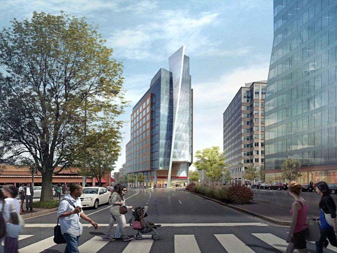 Rendering of the new designs for 2025 Clarendon Boulevard