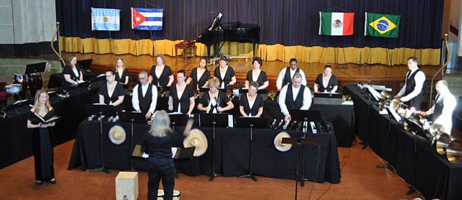 Virginia Bronze performed to a crowd of more than 200 at the 