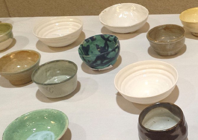 Local artists provided bowls for the guests to take home. The bowls served as reminders for how donations would go toward eliminating empty bowls and hunger. Participating artists included Eastern Market Pottery, Hinckley Pottery, Julia Paul Pottery, Jimmy Potters, Lee Arts Center and Strange Kitchen.
