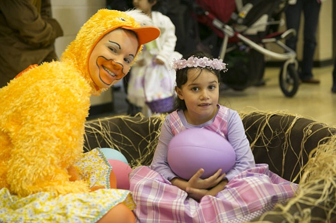 McLean Community Center will host Spring Fest, a spring-themed event for young children, from 10 a.m. to noon on Saturday, April 4. Spring Fest is a special event that includes self-guided arts and crafts projects, an egg hunt, entertainment and the opportunity for children to get a professional photo with Bunny. In addition, The Amazing Kevin will perform his magic show.