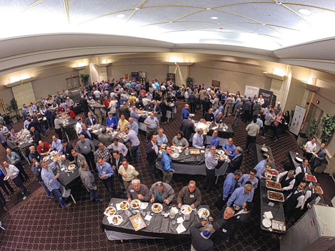 An overview of the 5th Annual Guys Night Out and Seder Summit at Beth Sholom.