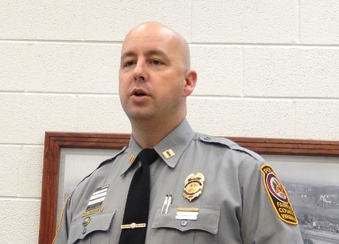 Capt. Bob Blakley is the Sully District Station commander.