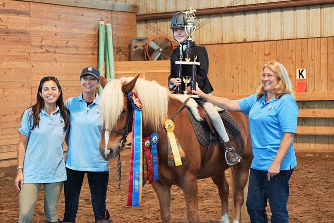 Sarah Wickman was Grand Champion of last year's therapeutic riding horse show in Lexington and a rider at Lift Me Up! in Great Falls.