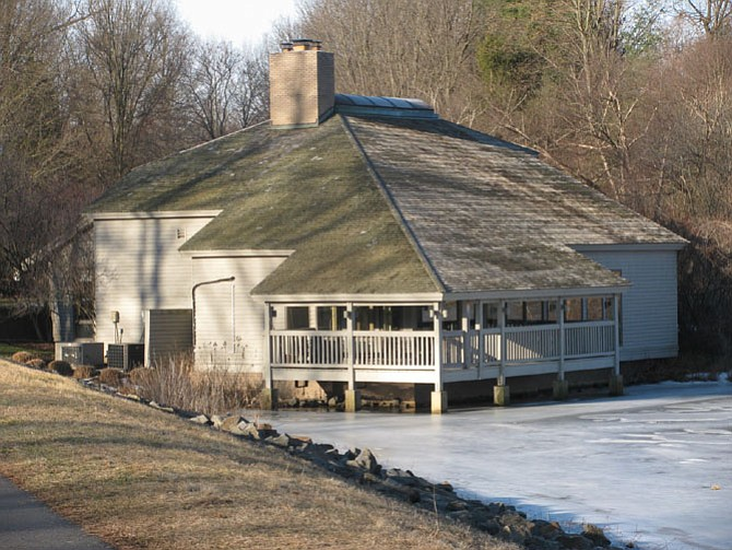 The Lake House, in a photo from last winter, was purchased in July 2015 for $2.6 million, and has been an ongoing source of controversy.