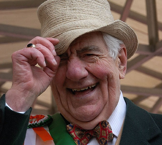 Daniel O'Flaherty served as the judge of the St. Patrick's Day Fun Dog Show for 25 years. He did March 26 at the age of 89.