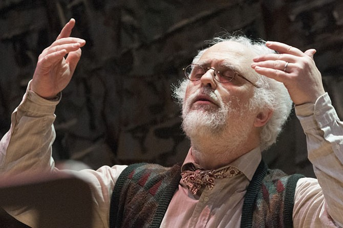 """Philip Hosford as Professor Josef Mashkan in 1st Stage production of """"Old Wicked Songs."""""""
