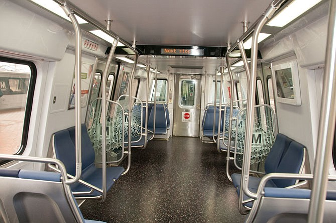 New Train Debuts on Metro's Blue Line