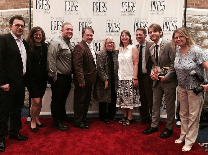 Connection Newspapers' winners from this year's Virginia Press Association Awards.