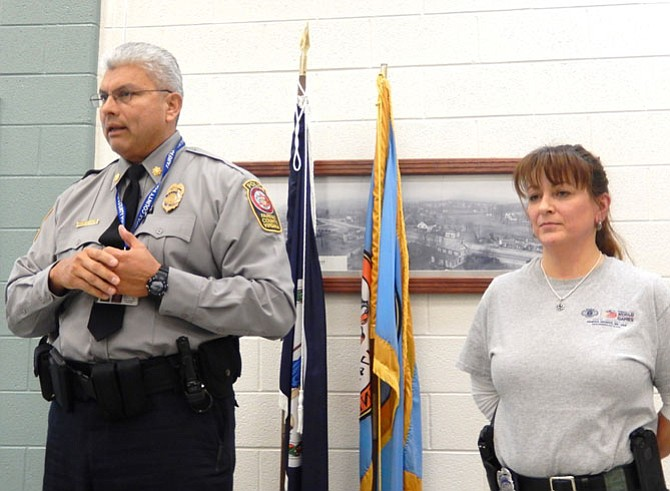 Police officers Rich Perez and Michelle DuBois discuss the upcoming World Police & Fire Games.