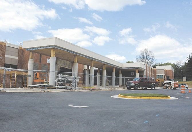 Terra Centre Elementary School added 20,500 square feet of space.