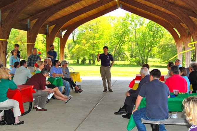 Del. Scott Surovell's Sixth Annual Cinco de Surovell fundraising event was held in May in Fort Hunt Park.