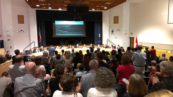 Citizens were actively engaged in the discussion leading up to the Fairfax County School Board's 10-1 vote in favor of adding gender identity to the district's nondiscrimination policy.
