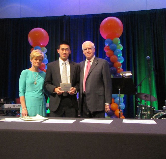 From left: Joan Sullivan, Edward Yao and Jim Sullivan at PCR's Annual Patricia Sullivan Benefit Dinner.
