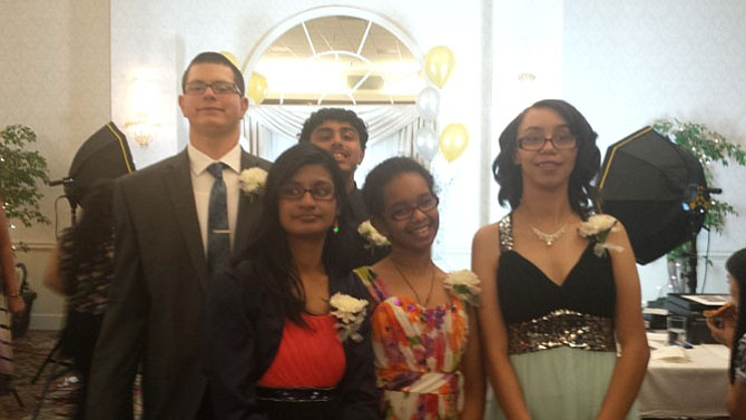 Students with hearing-impairments from various schools throughout Fairfax County attended the Day Prom.