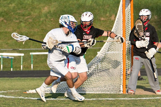 Churchill attackman Louis Dubick scored four goals during the 4A/3A West region championship game against Quince Orchard on May 13 and became Maryland's all-time leading goal scorer.