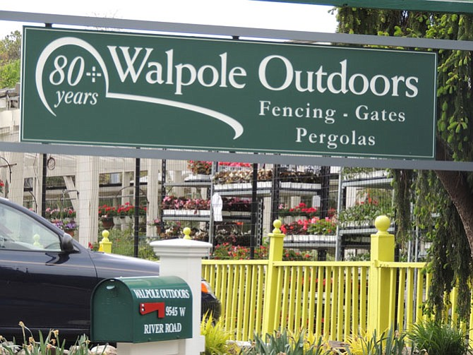 The new Walpole Outdoors Store is located in Potomac Village.