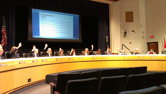 The Fiscal Year 2016 Approved Budget for Fairfax County Public Schools passed by a 10-2 vote.