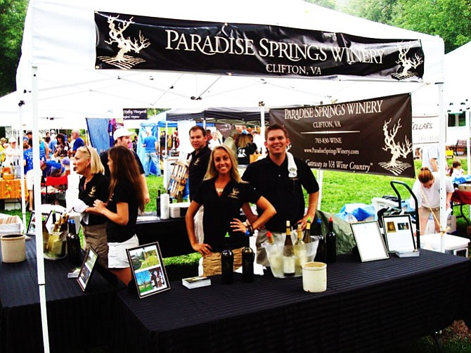 Paradise Springs Winery of Clifton has participated in nearly every Clifton Wine Festival.