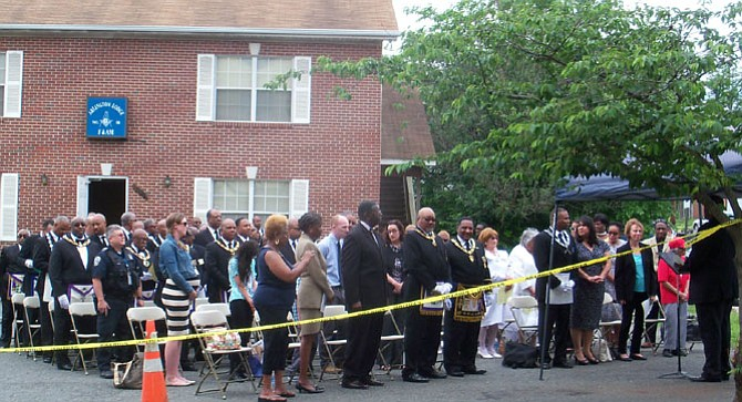 Arlington County erected a marker commemorating the strong and beneficial presence of generations of mostly African-American men in the Nauck 