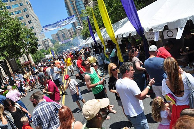 The 25th annual Taste of Reston will fill the town center with the delicious scents and delightful sounds on June 19-21.