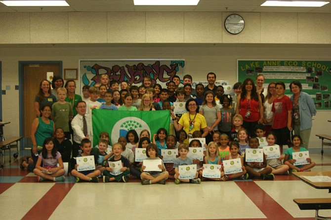 Lake Anne Elementary Earns Eco Schools Honor