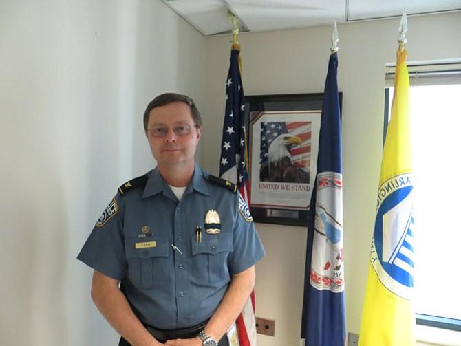 Police Chief Jay Farr
