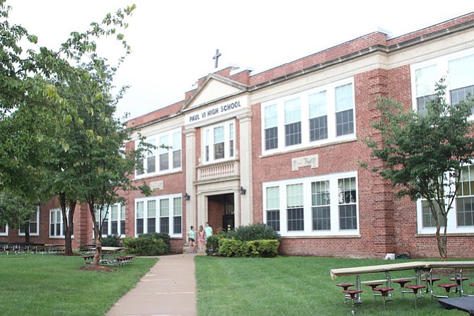Paul VI High will move from the City of Fairfax to South Riding in 2020.
