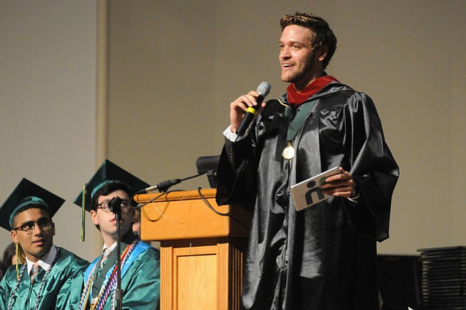 A 2011 Langley High School graduate, Chuck Katis, returned as the keynote speaker for the school's 2015 graduating class. He described growing up in a single parent household and the different struggles he faced, but always maintaining site of his academic and personal goals. He attended Harvard and graduated from the University of California, Berkeley in 2015.