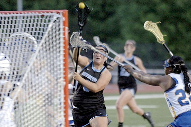 Reagan Newell, a 2015 Centreville High School graduate, will play lacrosse at James Madison University.