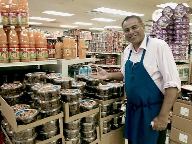 Khalid Hussain, store owner, Fair Price International Supermarket