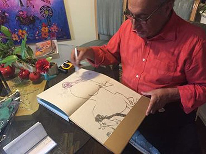 Iranian American artist Nasser Ovissi will hold a book signing and art exhibition on Saturday, July 25. The event will be 4-7:30 p.m. at the Exhibit9 Gallery, 10116 Lloyd Road, Potomac. Visit www.exhibit9gallery.com to learn more about the artist.