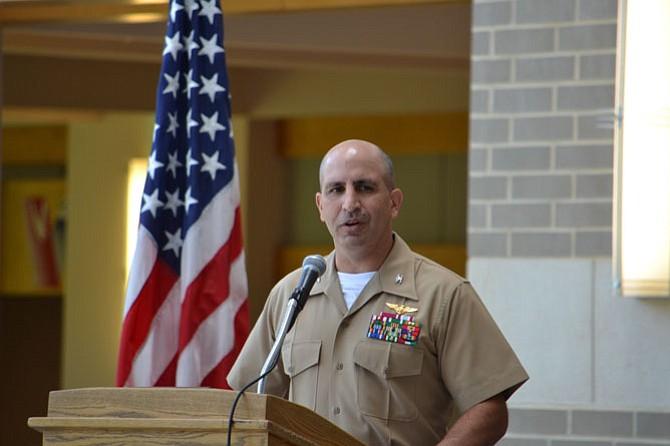 U.S. Marine Corps Col. David Owen