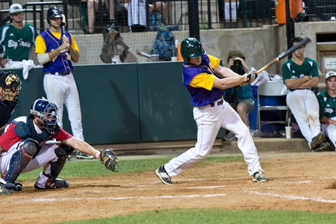 Jack Owens, a 2014 Lake Braddock graduate, played in the Cal Ripken Collegiate Baseball League all-star game on July 15 at Shirley Povich Field in Bethesda, Md.