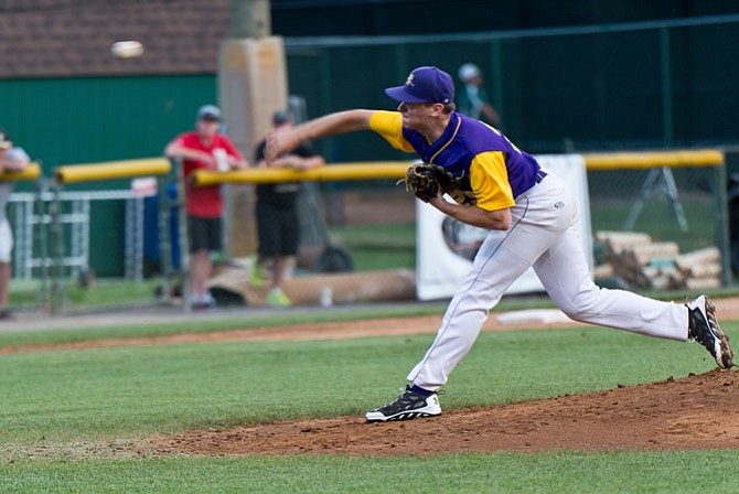 Jack Gomersall and the Vienna Riverdogs advanced to the Cal Ripken Collegiate Baseball League semifinals.