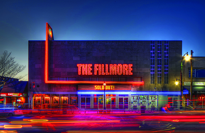 The Fillmore is a music venue in Silver Spring, Md.