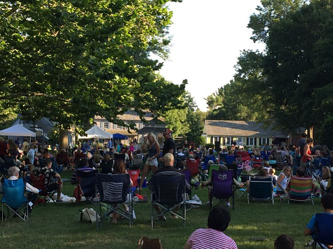 Great Falls community comes together Sunday evenings for Concerts on the Green.