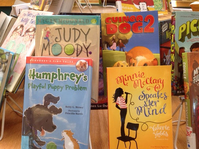 A sample of reading recommendations for youngsters.