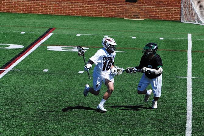 Episcopal rising sophomore and Clifton resident Connor Jacoby is committed to play lacrosse at the Naval Academy.