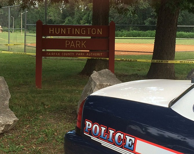 A body was found in Huntington Park on Wednesday, Aug. 5.