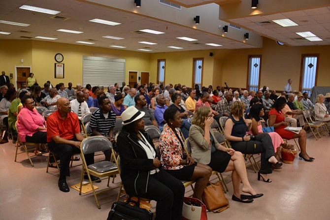 Many members of the community came out to a restoration of rights update from Secretary of the Commonwealth Levar Stoney at Bethlehem Baptist Church in the Gum Springs area of Alexandria.
