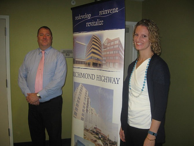 Charles McCaffrey, Community Business Partnership, and Emily McMahan, The Capitol Post