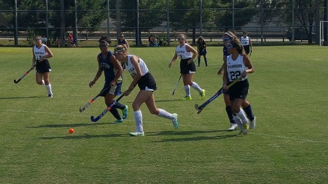 The Wakefield field hockey team opened the season with a 6-0 victory over Hylton on Aug. 24.