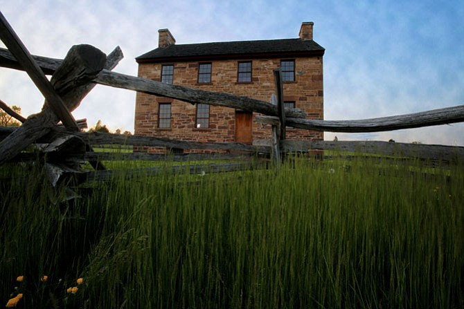 The Stone House at Manassas Battlefield