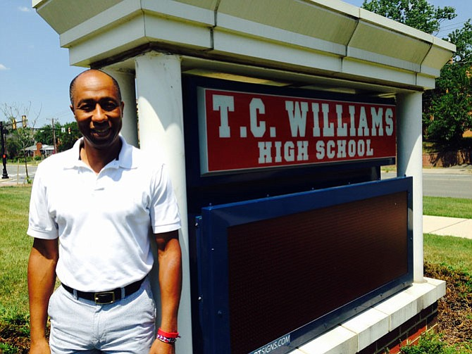 Dr. Jesse Dingle, principal of T.C. Williams