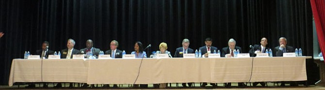 City Council candidates at the West End debate.