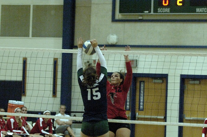 Madison setter Kendal Hall had 29 assists against South County on Sept. 24.