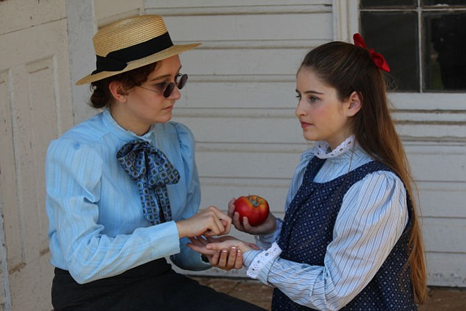 "Annie Sullivan (Meghan Landon) and Helen Keller (Lucy Robert) star in ACCT's production of ""The Miracle Worker,"" Oct. 2-17."
